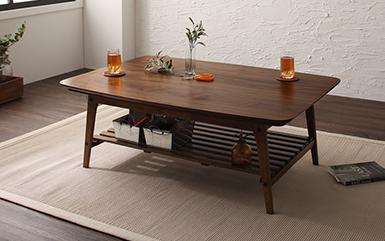 棚付きのこたつテーブル