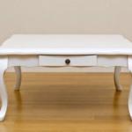 姫系家具 猫脚のこたつテーブル
