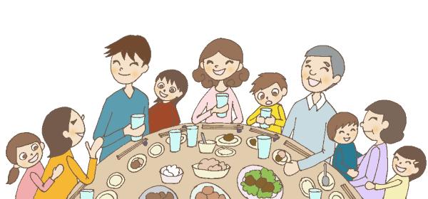 中華料理屋さんの円卓