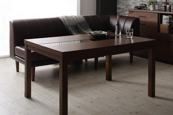 背の高いアーバンこたつテーブル