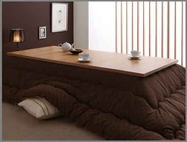 大きいこたつテーブルのこたつ布団のポイント