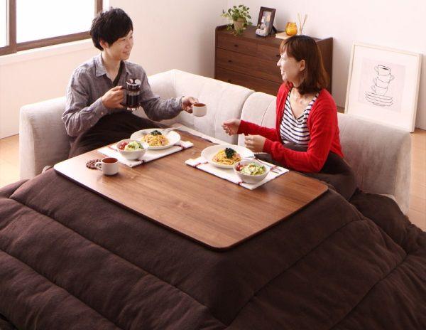 おすすめの二人用こたつテーブル(北欧デザイン)